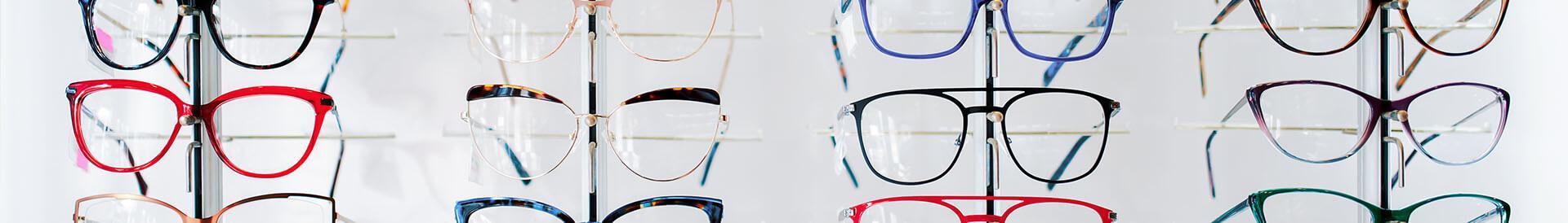 Wystawa oprawek okularów