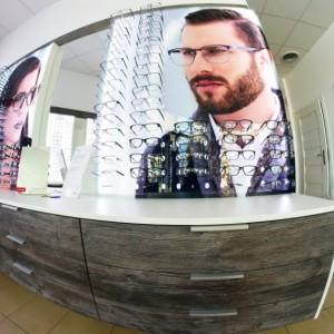 Asortyment salonu optycznego